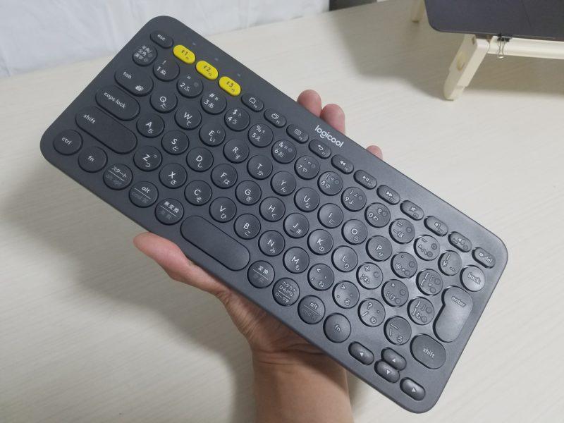 コンパクトなキーボード