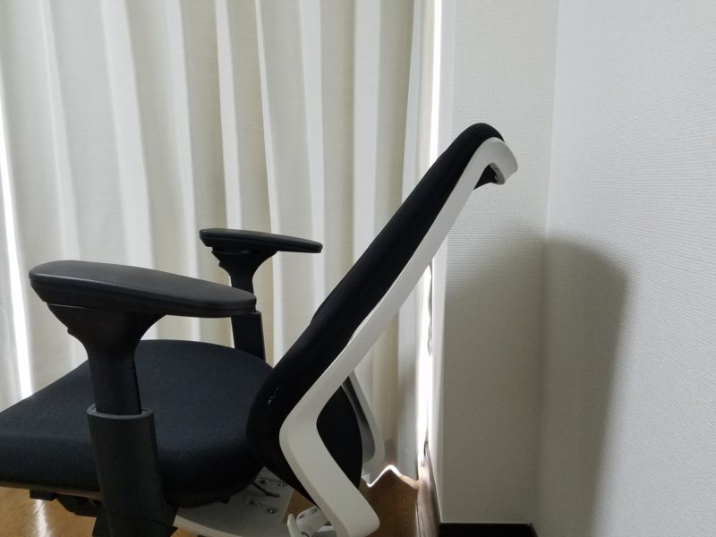 椅子ロッキング3段目